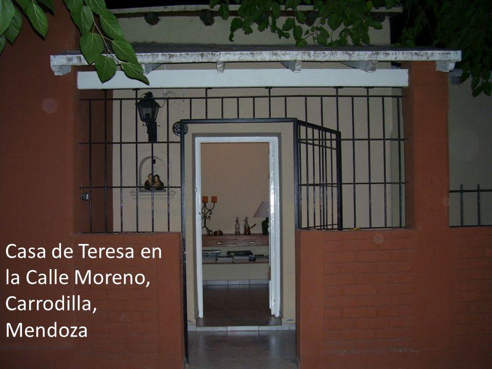 Casa de Teresa en la Calle Moreno, Carrodilla, Mendoza