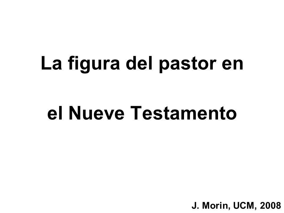 La figura del pastor en el Nueve Testamento