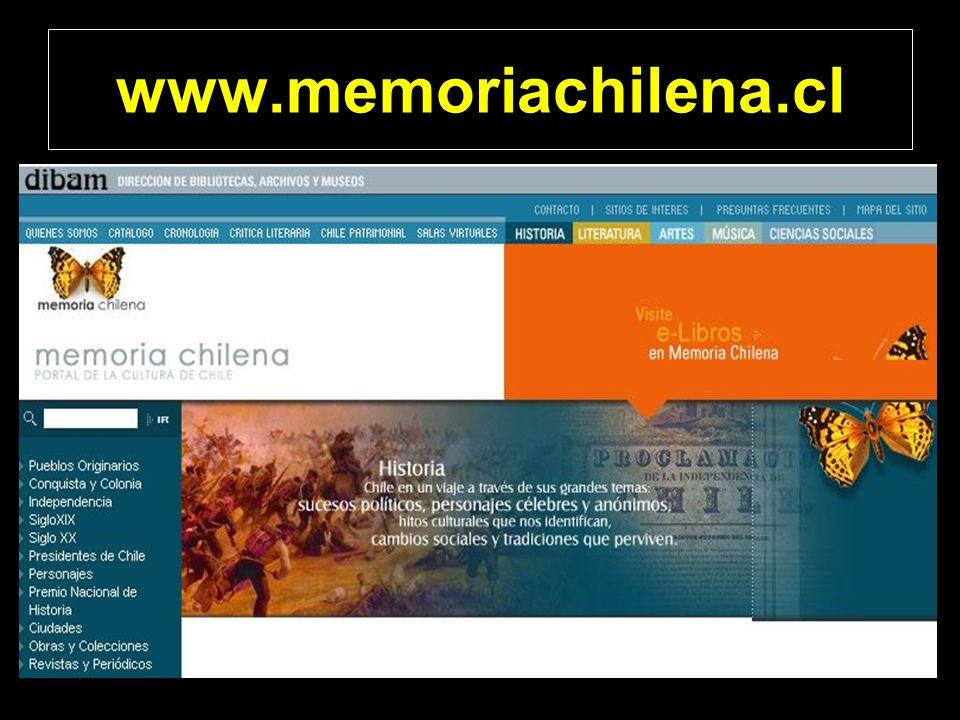 www.memoriachilena.cl