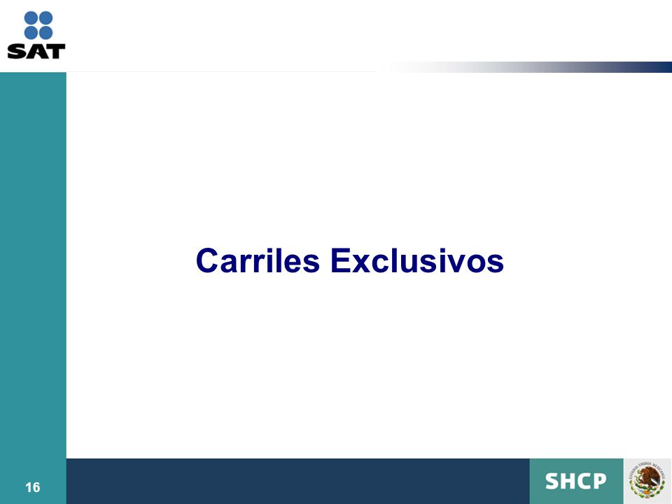 Carriles Exclusivos