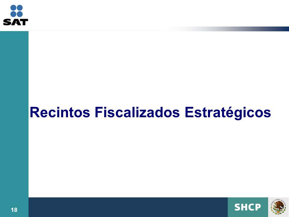 Recintos Fiscalizados Estratégicos