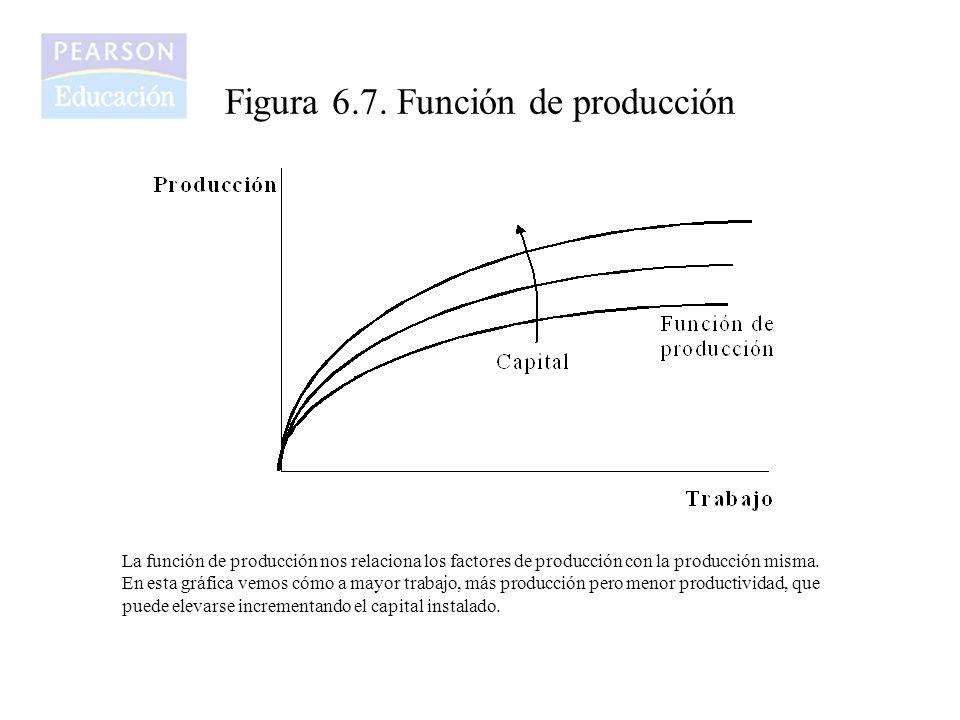Figura 6.7. Función de producción