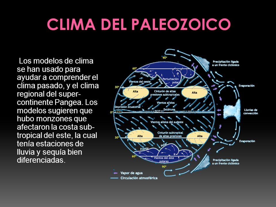 CLIMA DEL PALEOZOICO