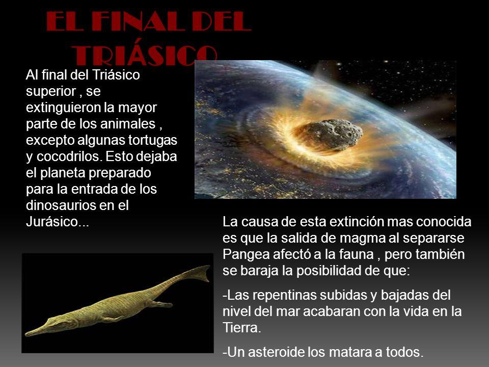 EL FINAL DEL TRIÁSICO