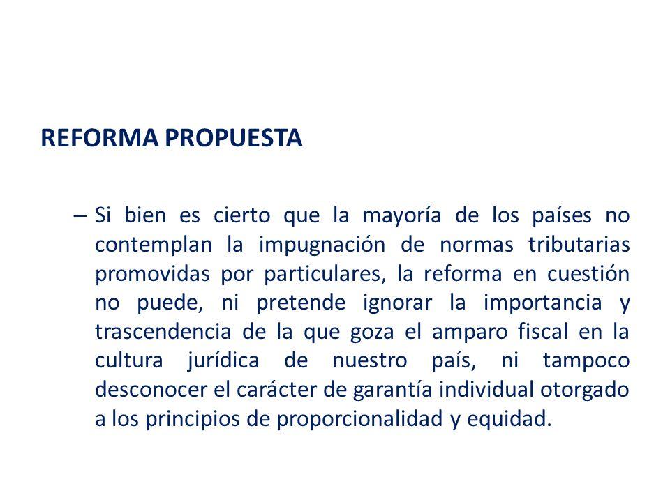 REFORMA PROPUESTA