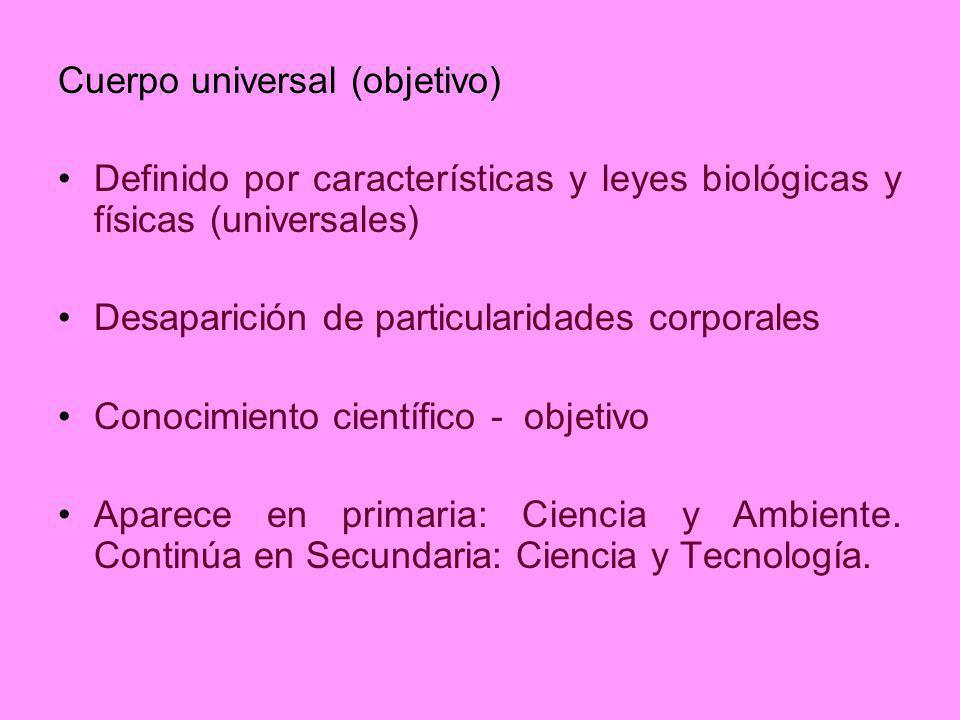 Cuerpo universal (objetivo)
