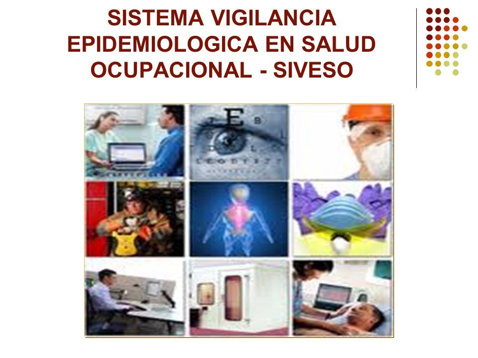 SISTEMA VIGILANCIA EPIDEMIOLOGICA EN SALUD OCUPACIONAL - SIVESO