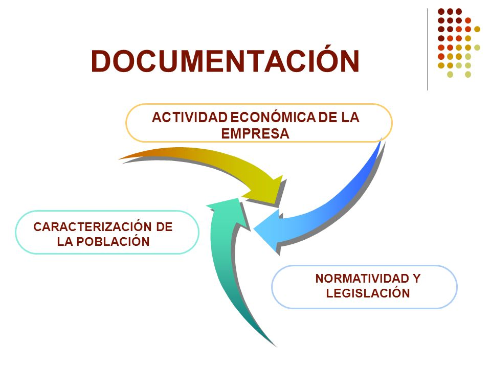 DOCUMENTACIÓN ACTIVIDAD ECONÓMICA DE LA EMPRESA