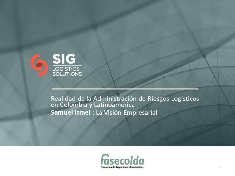 Realidad de la Administración de Riesgos Logísticos en Colombia y Latinoamérica