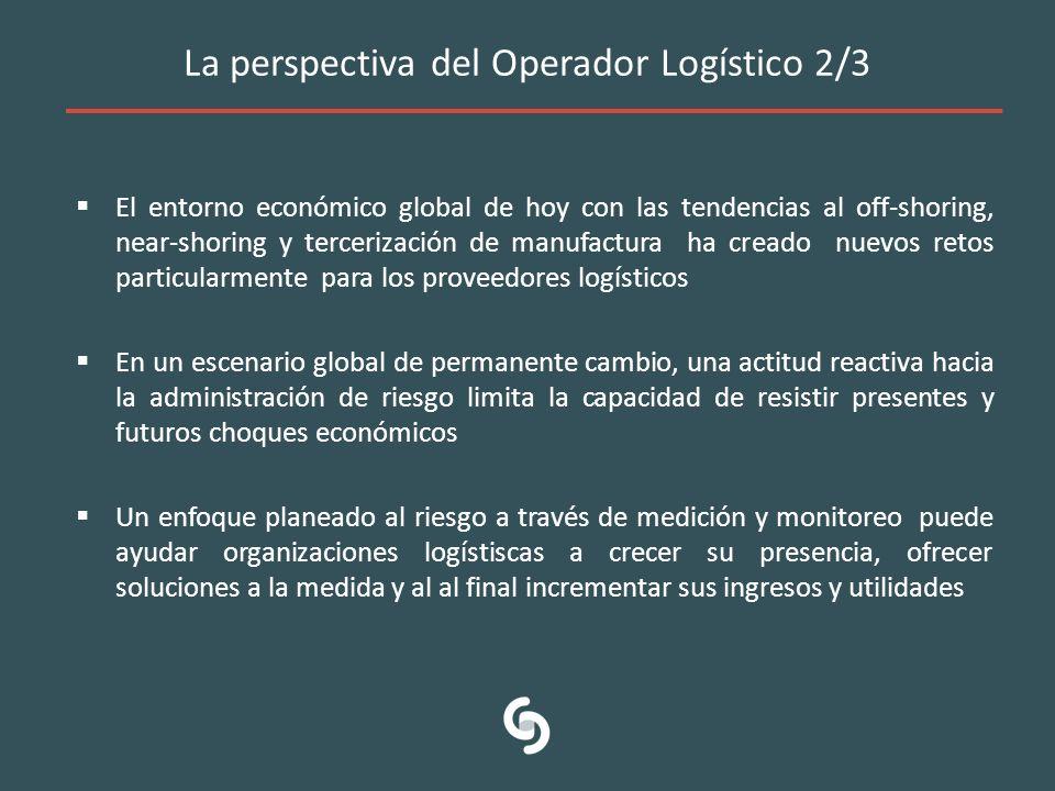 La perspectiva del Operador Logístico 2/3