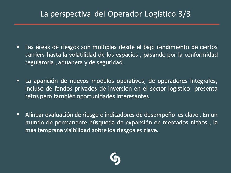 La perspectiva del Operador Logístico 3/3