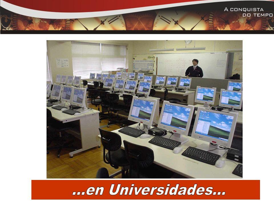 . ...en Universidades...