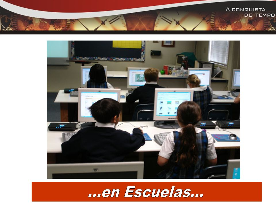 . ...en Escuelas...