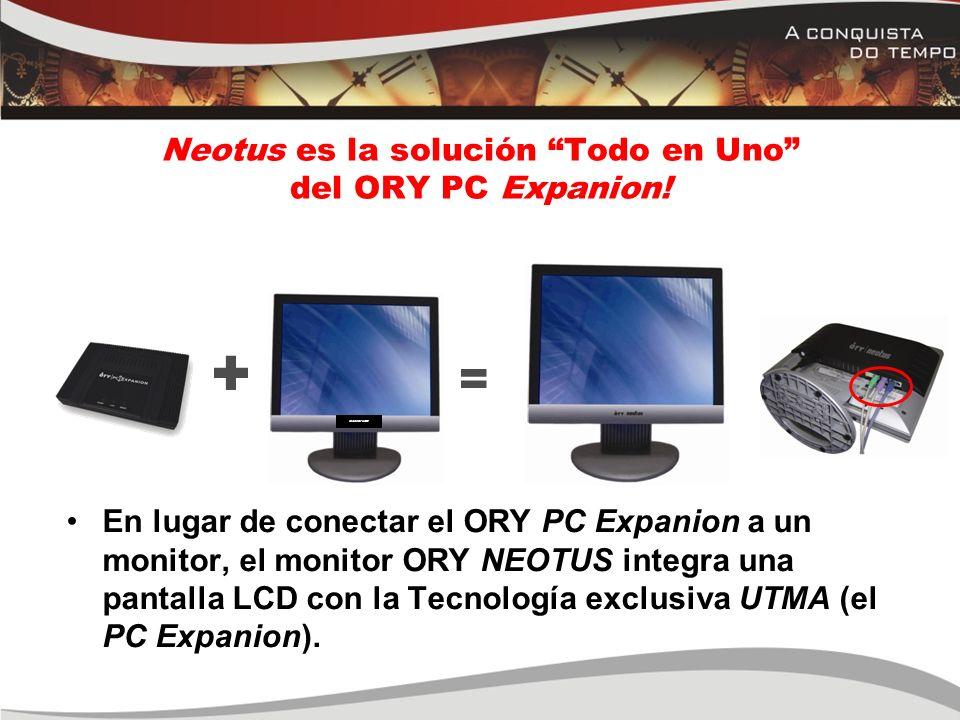 Neotus es la solución Todo en Uno del ORY PC Expanion!