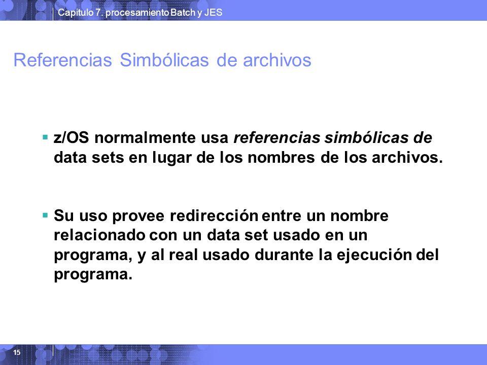 Referencias Simbólicas de archivos