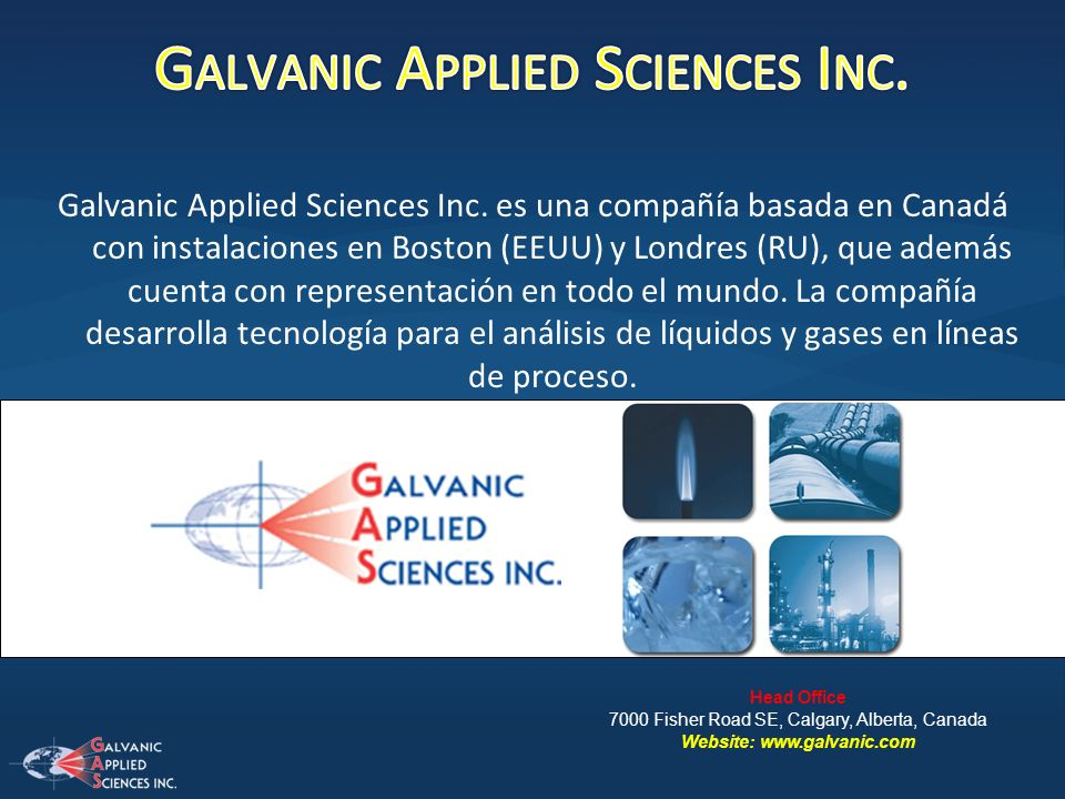 Galvanic Applied Sciences Inc.