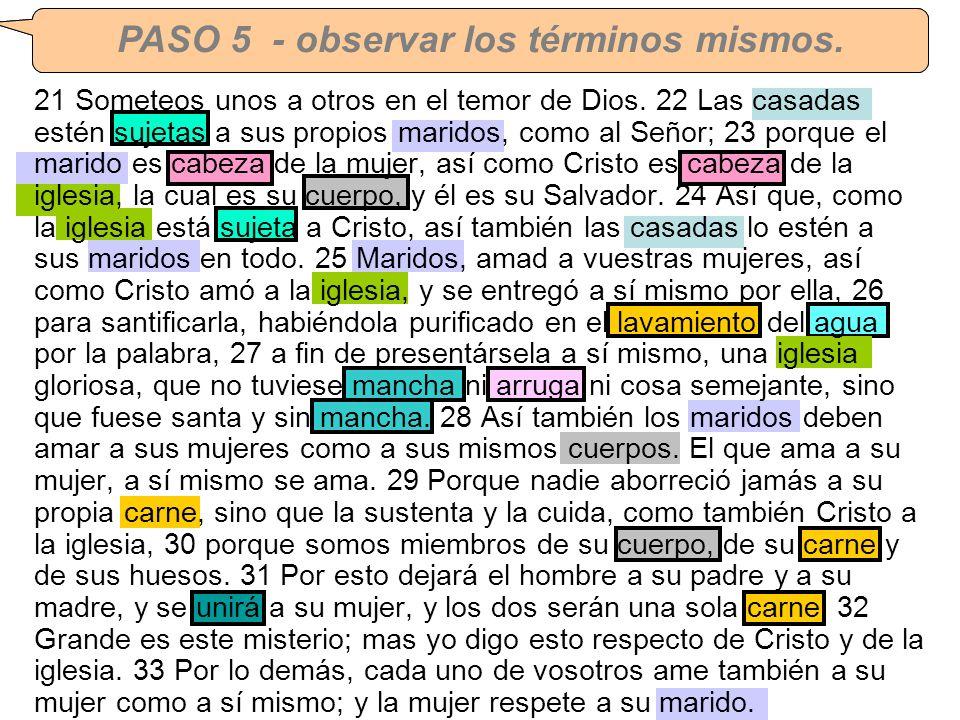 CORRECCION DE TAREA #3 – Efesios 5:21-33