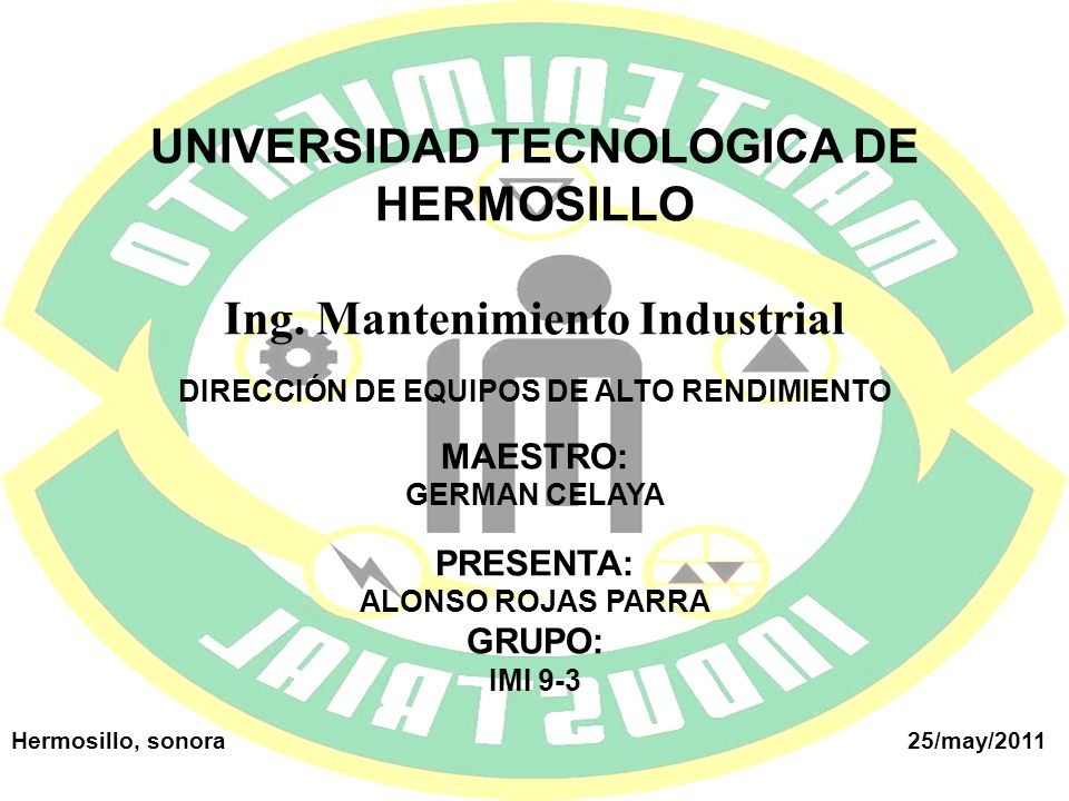 UNIVERSIDAD TECNOLOGICA DE HERMOSILLO