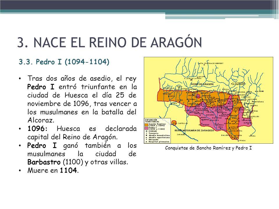 Conquistas de Sancho Ramírez y Pedro I