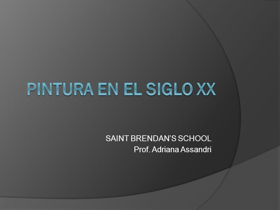 SAINT BRENDAN'S SCHOOL Prof. Adriana Assandri