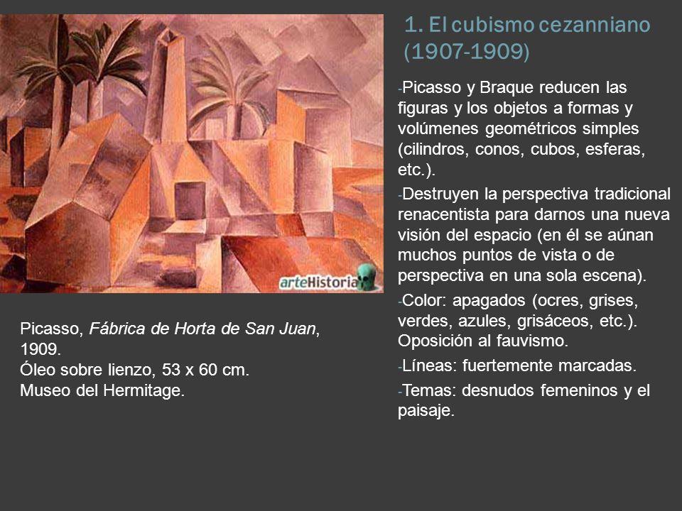 1. El cubismo cezanniano (1907-1909)