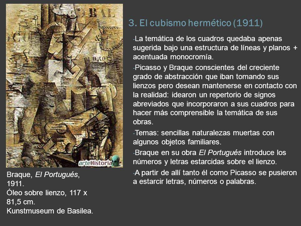 3. El cubismo hermético (1911)
