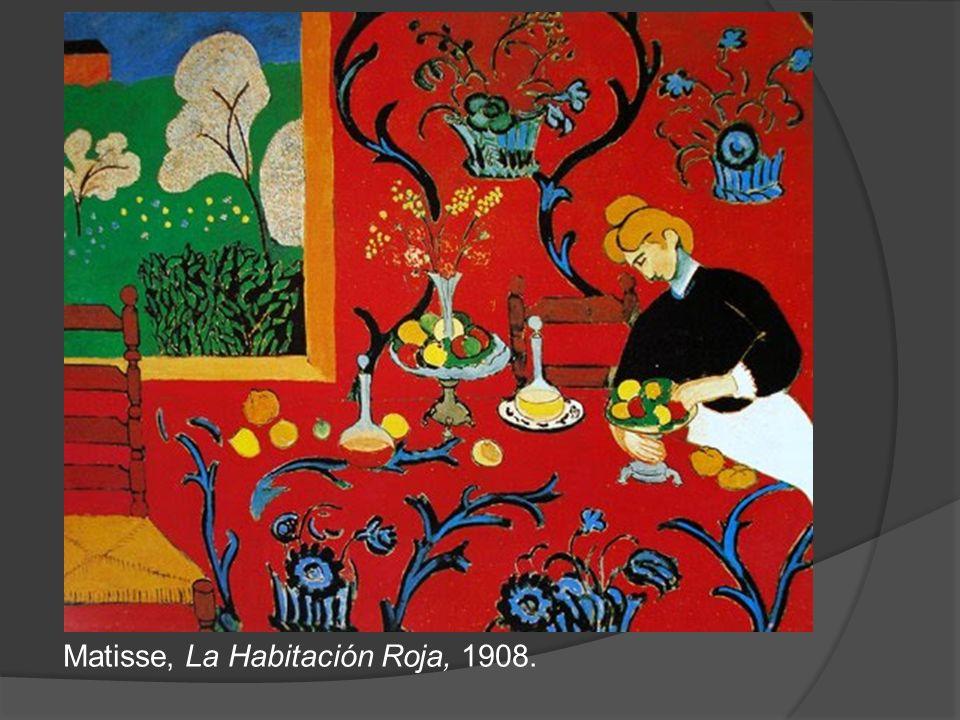 Matisse, La Habitación Roja, 1908.