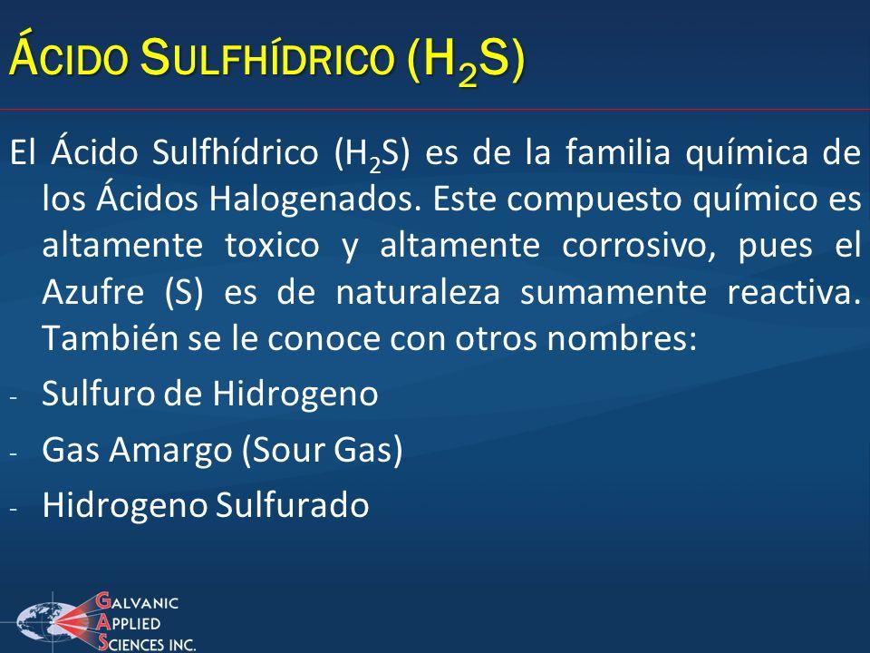 Ácido Sulfhídrico (H2S)