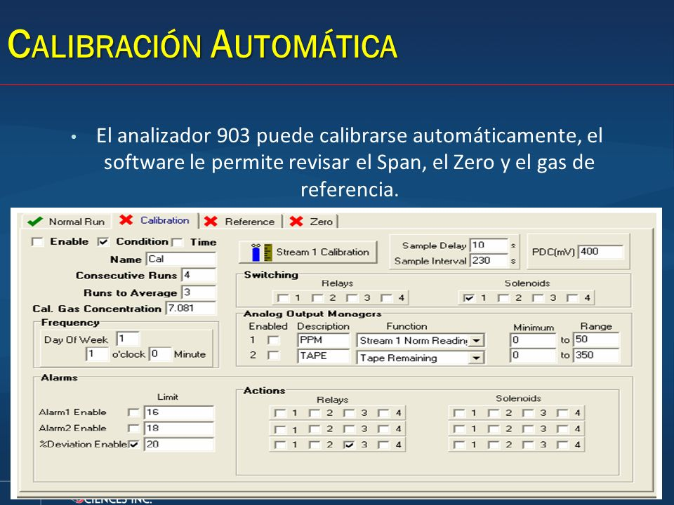 Calibración Automática