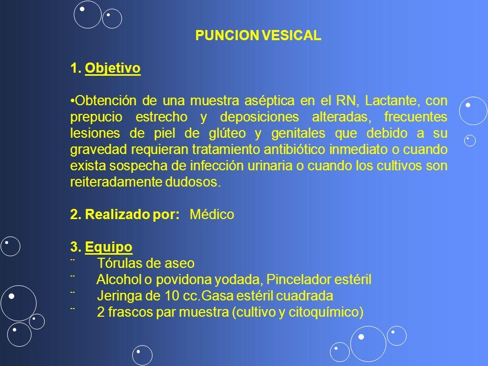 PUNCION VESICAL1. Objetivo.