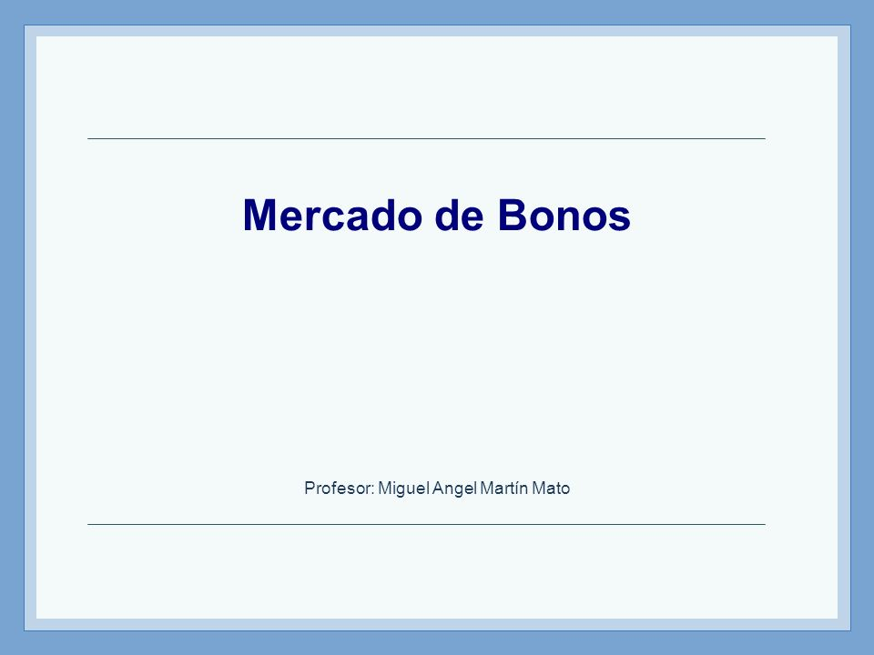 Profesor: Miguel Angel Martín Mato