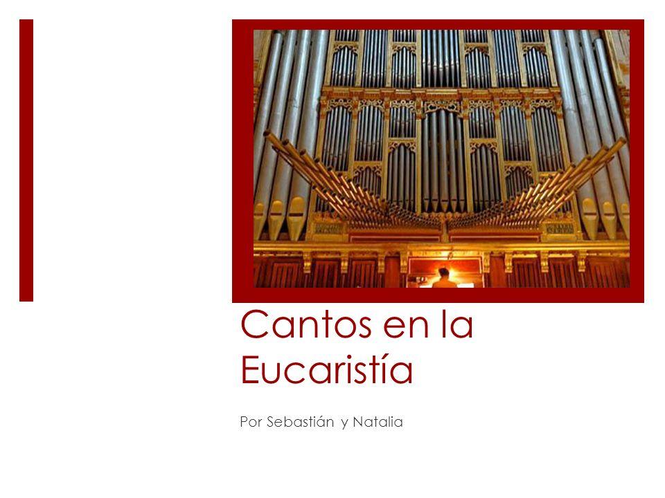 Cantos en la Eucaristía