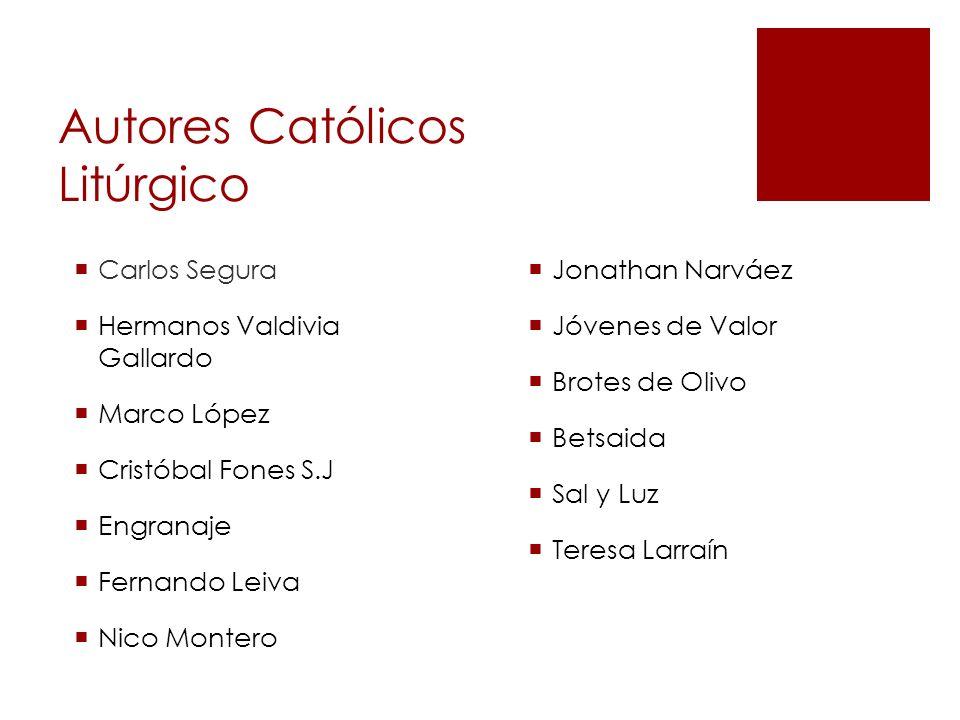 Autores Católicos Litúrgico