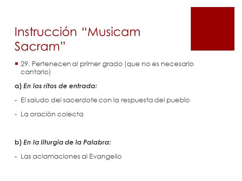 Instrucción Musicam Sacram