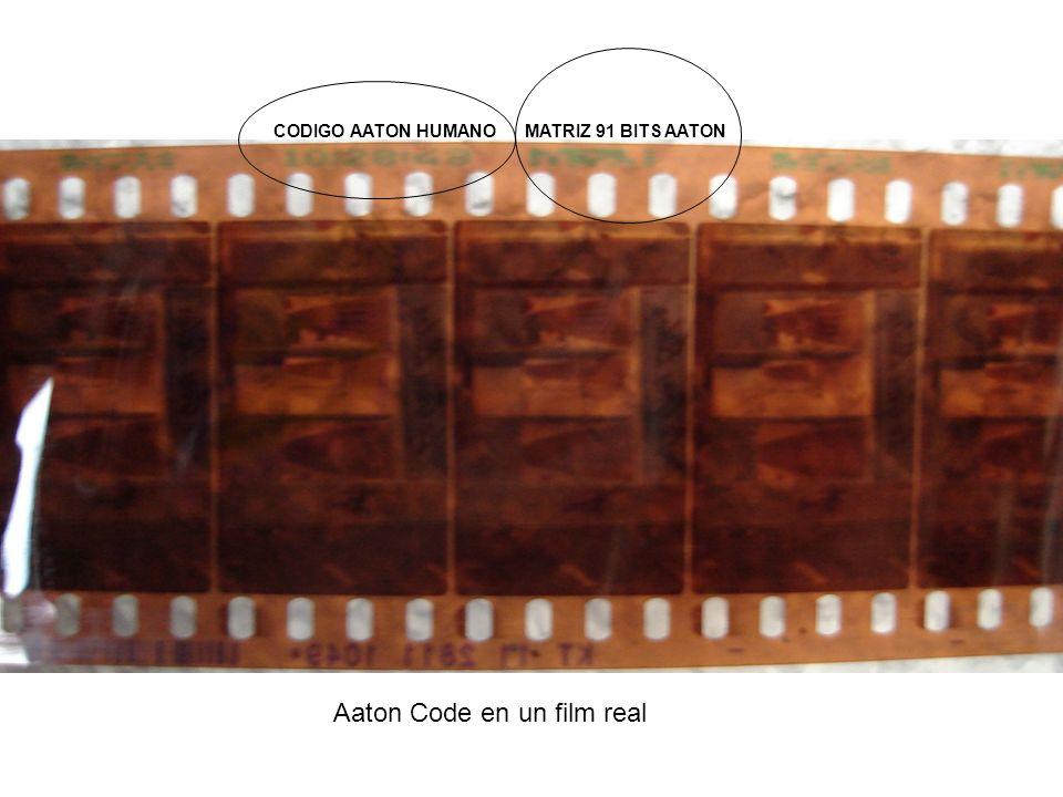 Aaton Code en un film real