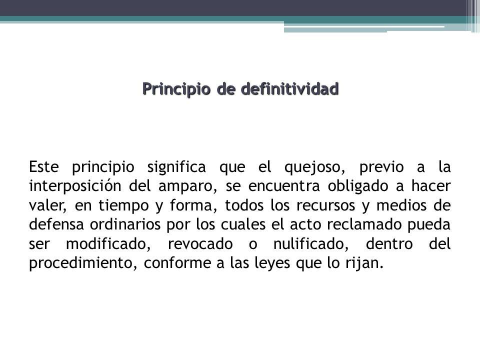 Principio de definitividad
