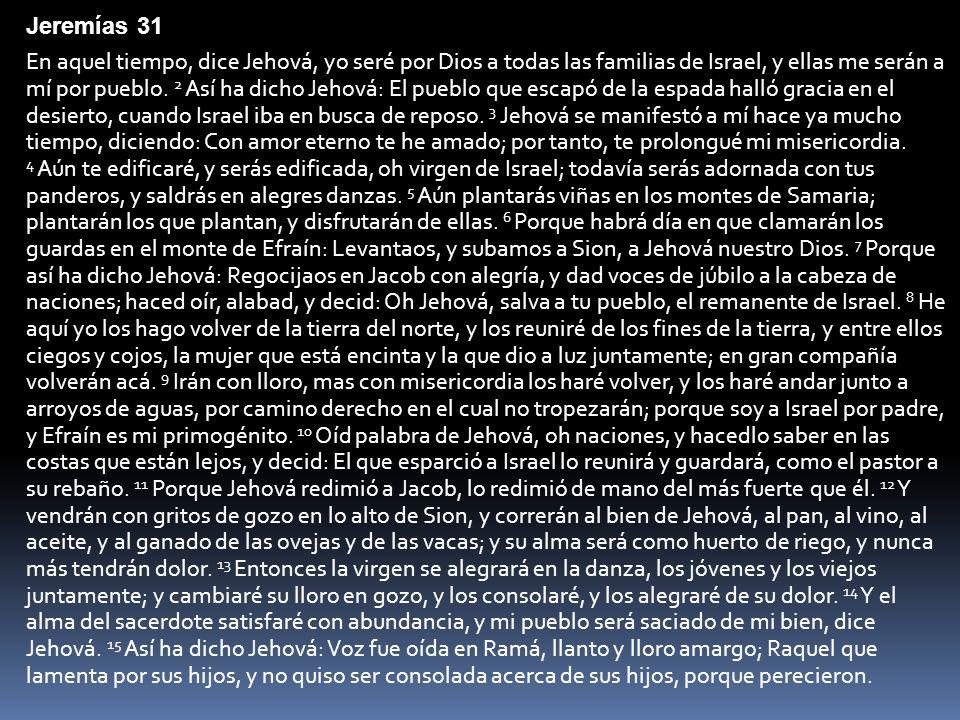 Jeremías 31