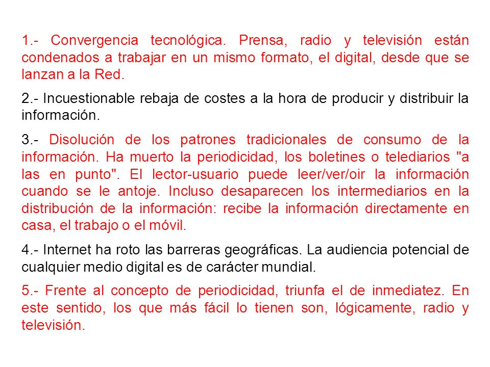 1. - Convergencia tecnológica