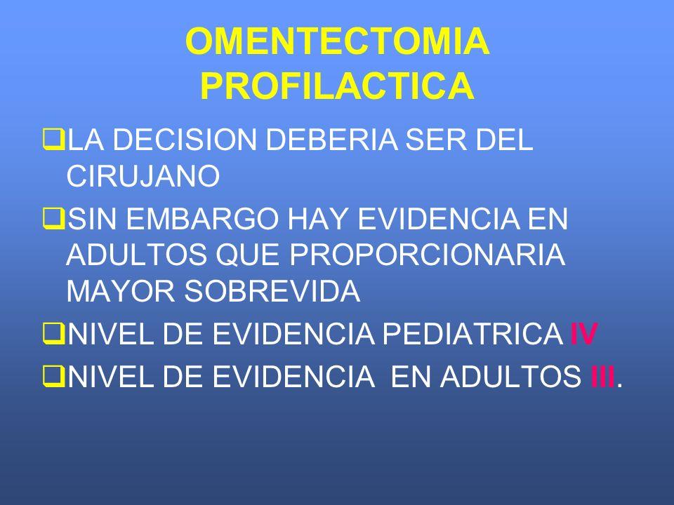 OMENTECTOMIA PROFILACTICA