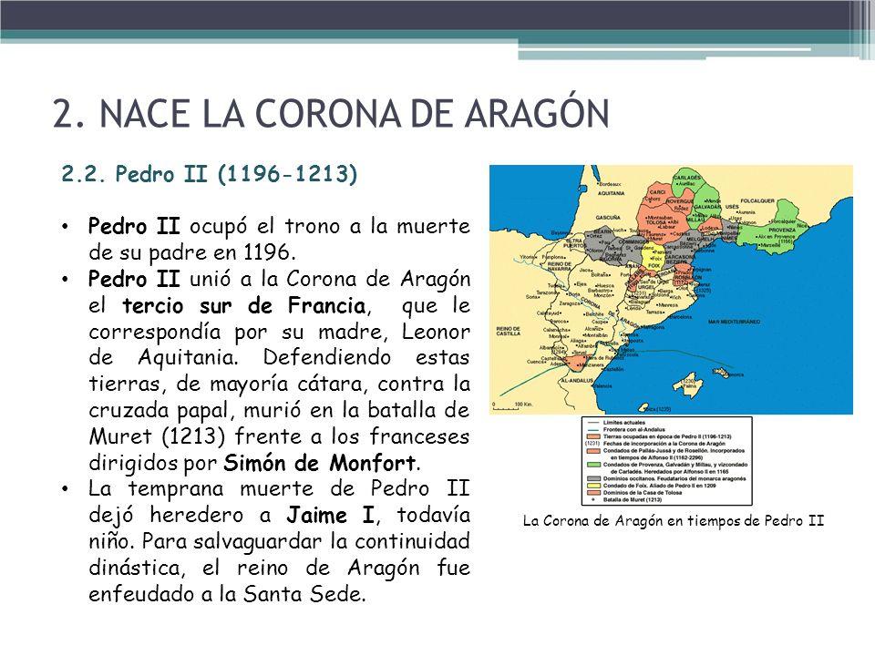 La Corona de Aragón en tiempos de Pedro II