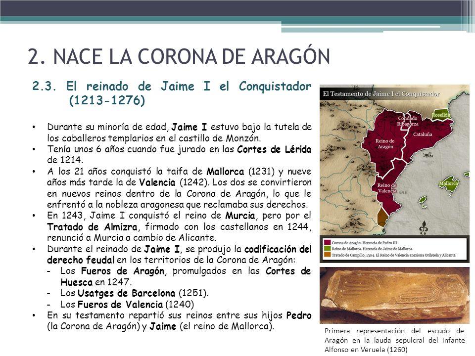 2. NACE LA CORONA DE ARAGÓN