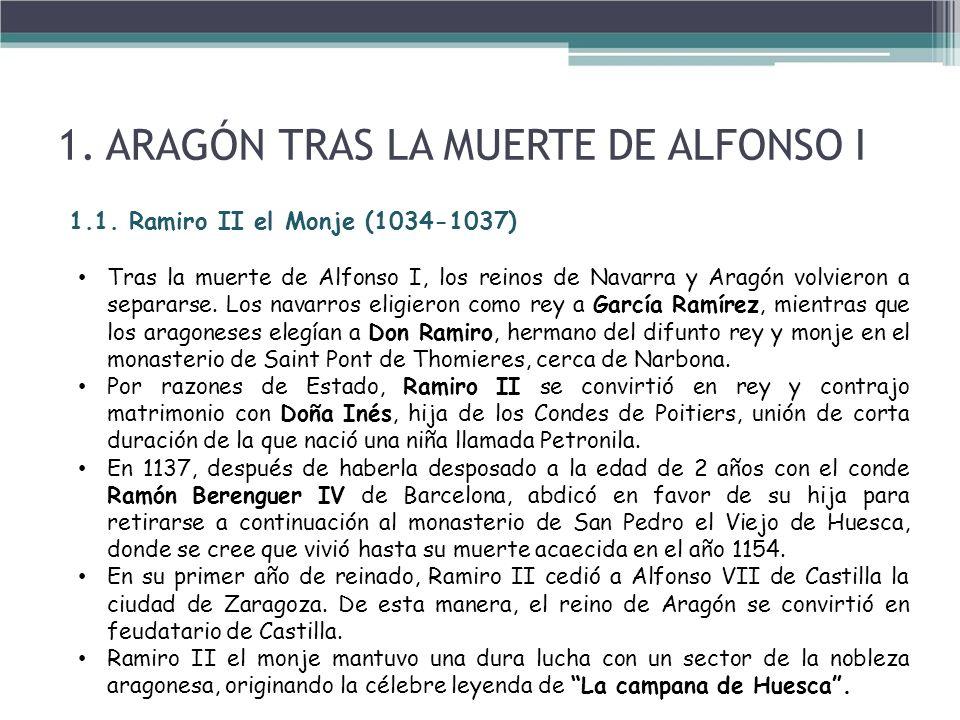 1. ARAGÓN TRAS LA MUERTE DE ALFONSO I