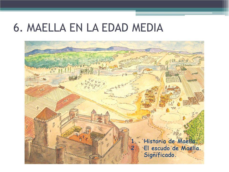 6. MAELLA EN LA EDAD MEDIA Historia de Maella.
