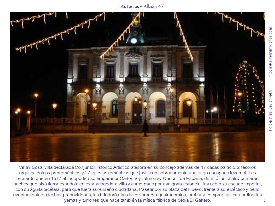 Villaviciosa, villa declarada Conjunto Histórico Artístico atesora en su concejo además de 17 casas palacio, 2 tesoros arquitectónicos prerrománicos y 27 iglesias románicas que justifican sobradamente una larga escapada invernal. Les recuerdo que en 1517 el todopoderoso emperador Carlos V y futuro rey Carlos I de España, durmió las cuatro primeras noches que pisó tierra española en esta acogedora villa y como pago por esa grata estancia, les cedió su escudo imperial, con su águila bicéfala, para que fuera su enseña ciudadana. Pasear por su plaza del Huevo, frente a su ecléctico y bello ayuntamiento en fechas prenavideñas, les brindará otra dulce sorpresa gastronómica, probar y comprar las extraordinarias yemas y turrones que hace también la mítica fábrica de Sidra El Gaitero.