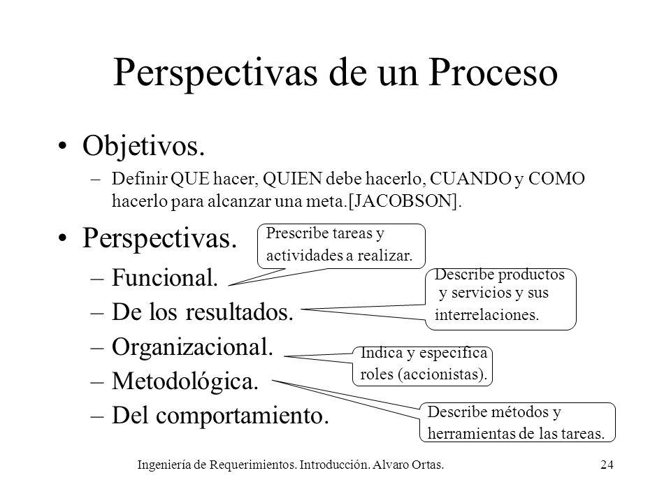 Perspectivas de un Proceso