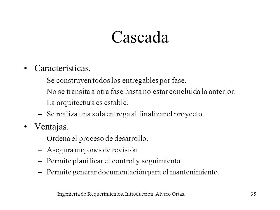 Ingeniería de Requerimientos. Introducción. Alvaro Ortas.