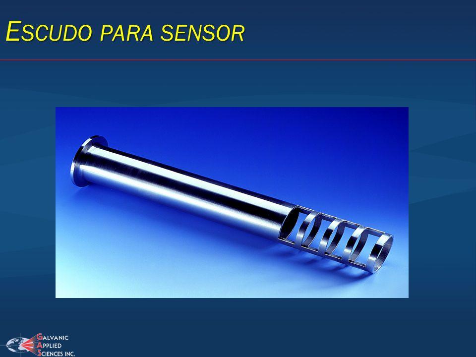 Escudo para sensor