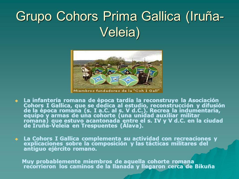 Grupo Cohors Prima Gallica (Iruña-Veleia)