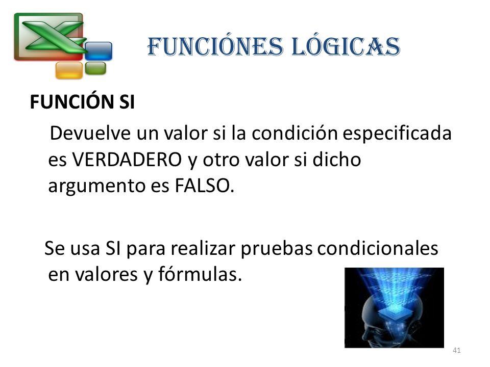 FUNCIÓNES LÓGICAS