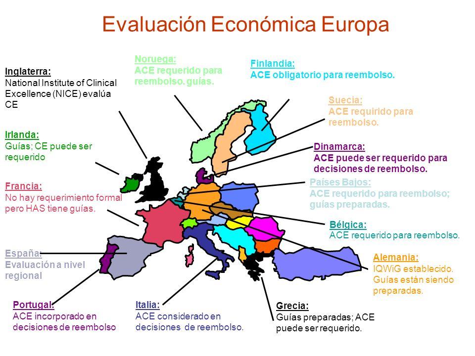 Evaluación Económica Europa